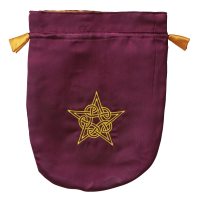 Celtic Pentagram Tarot Bag Pouch