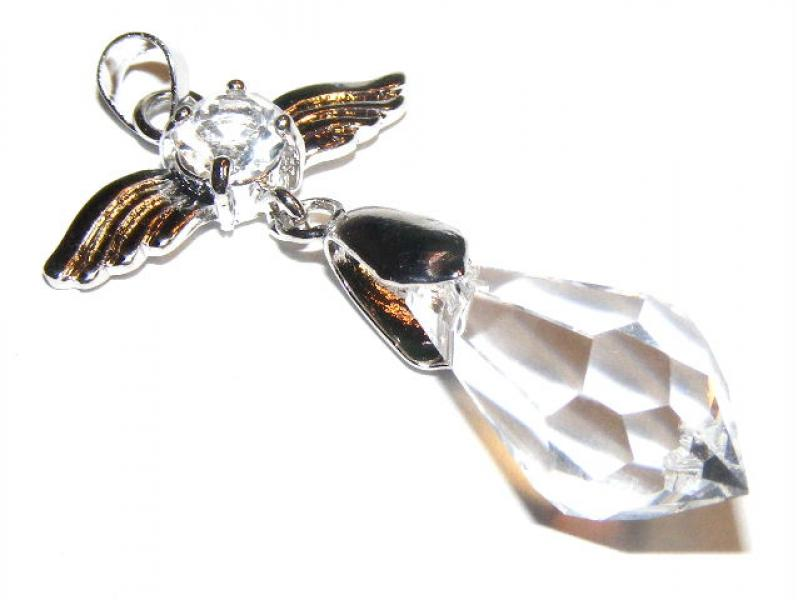 Angel Of Light Swarovski Crystal Pendant